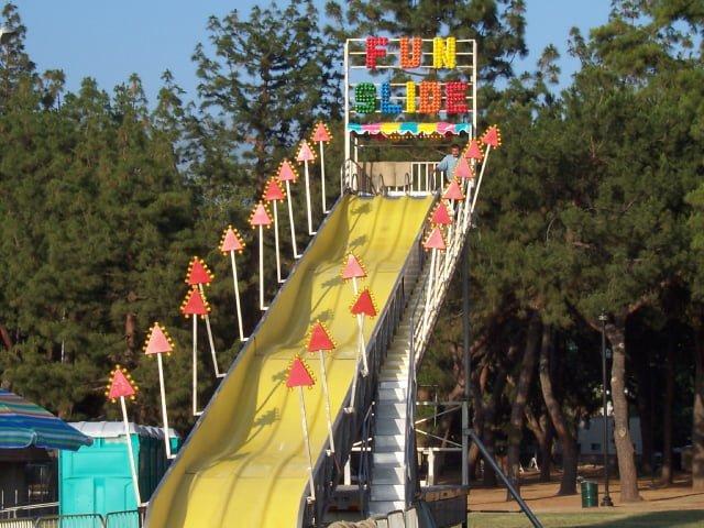 fun slide mother lode fairgrounds