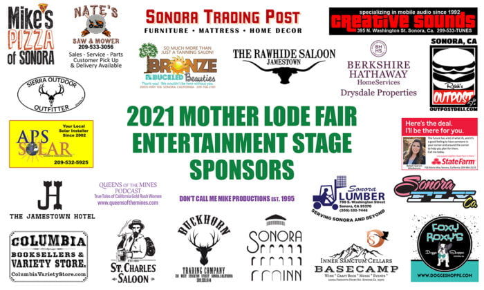 Entertainment Stage Sponsors
